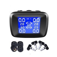 Best Portable Tire Pressure Monitoring System Car TMPS Tyre Pressure Sensor Tire Pressure Sensor TMPS USB Car Tire Pressure