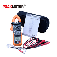 Digital Professional AC Clamp Meter 4000 Counts Backlight Multimeter Tester HYELEC MS2008B Electrical Portable Multimeter