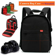 Tas Ransel Kamera Tahan Air Case Lensa Ransel Digital DSLR Photo Video Tas Empuk Ransel Zipperlock(China)