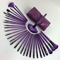 Pinceles de Maquillaje Pro Set 32 UNIDS Púrpura Belleza Kabuki pincel Maquillage Pinceaux Kit de Cepillo + bolso de La Bolsa