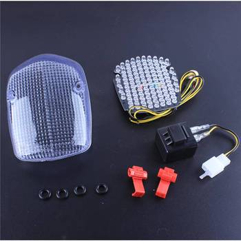 LED Integrated Turn Signals Tail Light Clear Fit Honda SHADOW ACE 750 SABRE 1100 AERO SHADOW DELUXE 750 VALKYRIE TOURIER