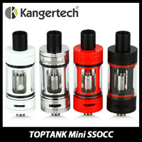 100 Original Kanger TOPTANK Mini Cartomizer Atomizer With 4ml Top Refillable SSOCC Pyrex Glass E Cigarette