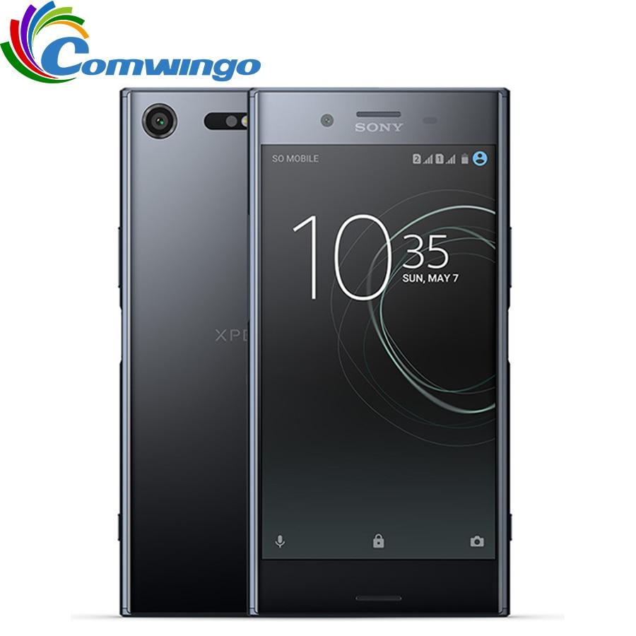 Original Unlocked Sony Xperia XZ Premium G8142 RAM 4GB ROM 64GB Dual Sim GSM 4G LTE Android Octa Core 5.5 19MP WIFI GPS 3230mAh