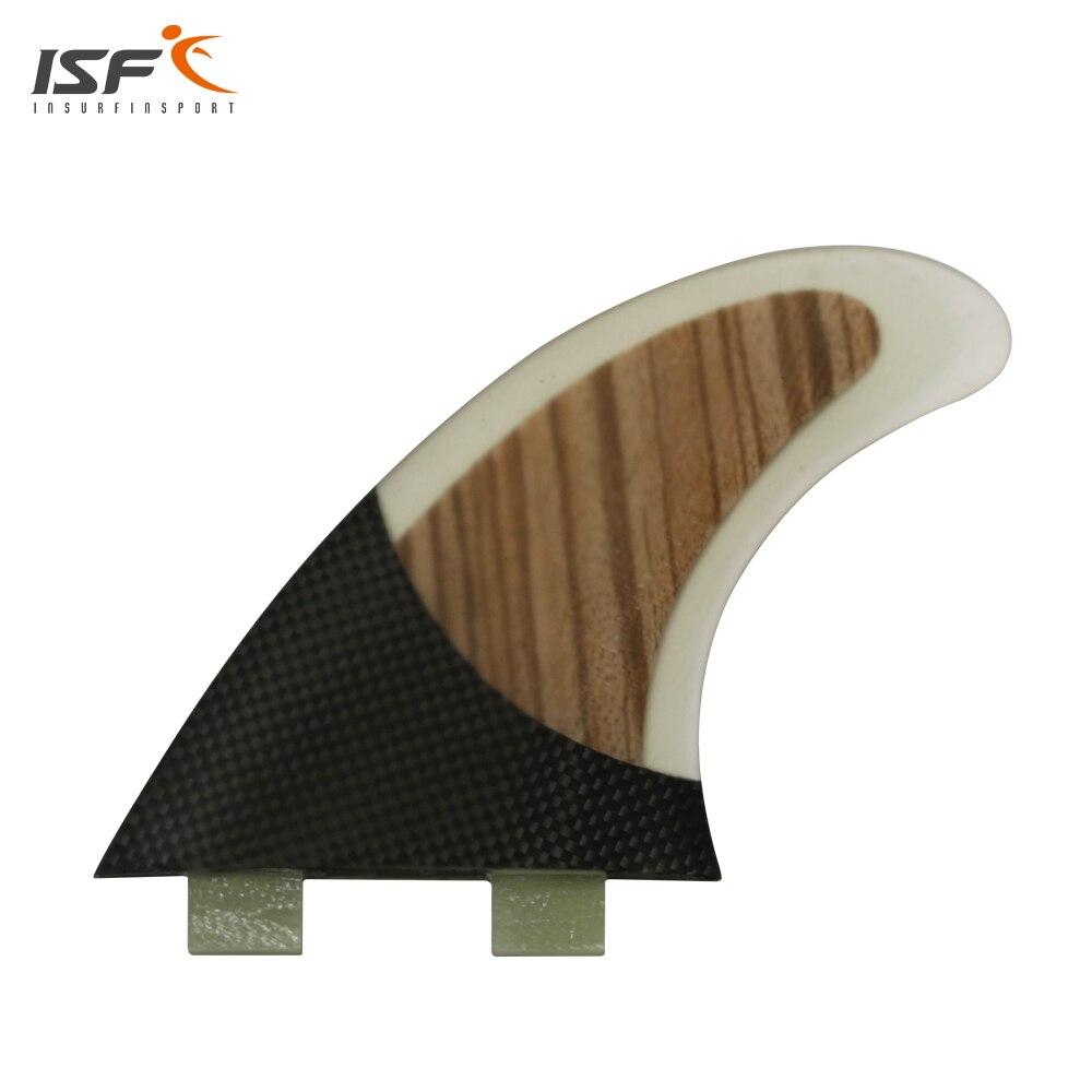 ISF новый стиль углерода стекловолокна FCS ребра доски для серфинга thruster G5 FCS плавники соты углерода quilhas pranchas де плавники серфинга 3 шт.
