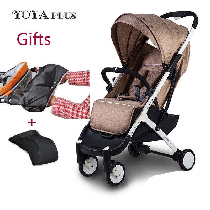 Yoyaplus baby stroller ultra-light folding can sit can lie high-end landscape umbrella baby trolley portable on the airplane