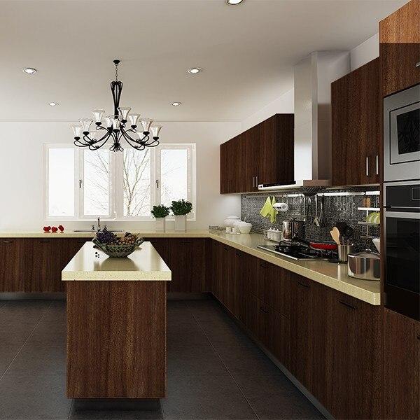 Kenya proyecto comercial ronda muebles de cocina modulares en Sets ...