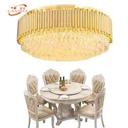Современная роскошь потолочные светильники жизни Обеденная светодиодный заподлицо потолочный свет ресторан K9 хрустальный потолок свет
