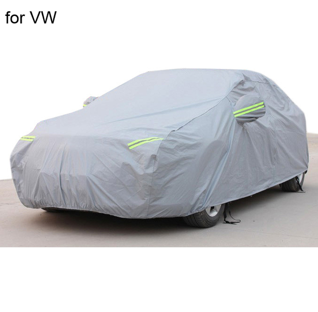 For volkswagen vw golf 4 5 passat b5 b6 polo jetta Car covers with cotton firm thicken Waterproof Anti UV Snow Dust cover of car