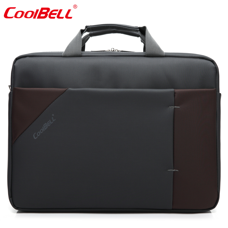 COOLBELL Men Women Notebook 15.6 inch Laptop Computer Bag Waterproof Multifunctional Briefcase Shoulder Messenger Bag-FF