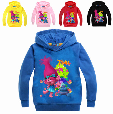 Spring Cartoon T-shirt Hoodies For Girls Sweatshirt The Good Clothing Children's Sweatshirt Long Sleeve Cotton Tees