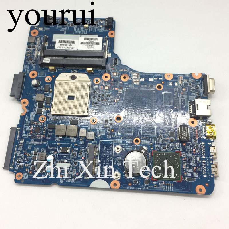 yourui For <font><b>HP</b></font> Probook 450 G1 <font><b>455</b></font> G1 Laptop <font><b>Motherboard</b></font> 48.4ZC04.011 722824-001 722824-501 722824-601 DDR3 100% Tested Good image