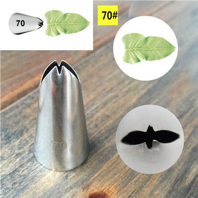 Leaf Tips Seamless Pastry Tube Nozzles Cake Decorating Set