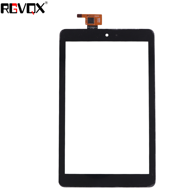 RLGVQDX New 8 For Dell T02D Venue 8 3830 Touch Screen Black High Quality Replacement Glass