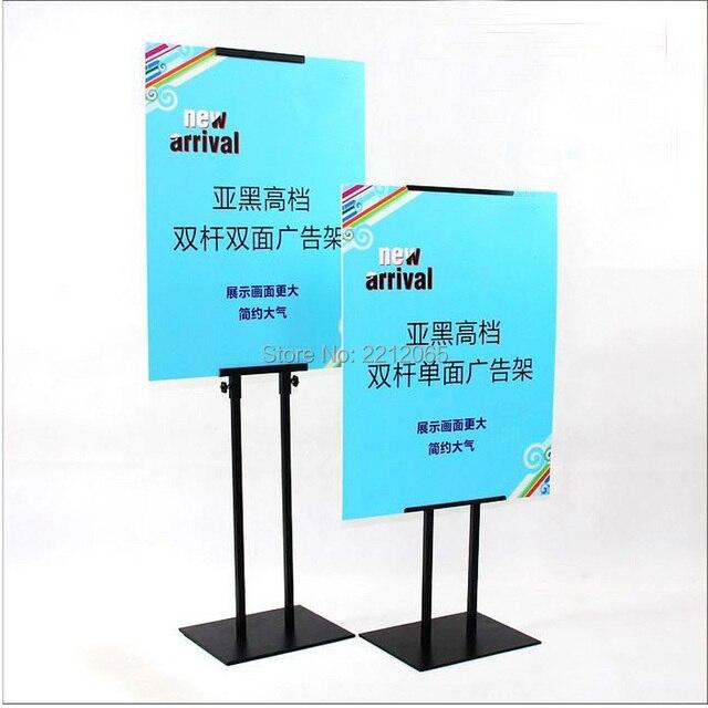 Single Side Display Adjustable Pedestal Floor Poster & Sign Display Stands for Advertising ,Graphics,Signage and Poster