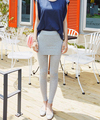 Sweety Autumn New Arrival Hot Sale  Fake Two PiecesCandy Color Slim Leggings Free Shipping Seven Colors