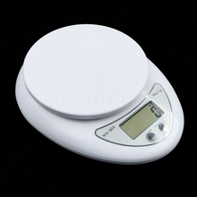 5000g/1g Digital Scale Kitchen Food Diet Postal Scale Electronic Weight Scales Balance Weighting Tool