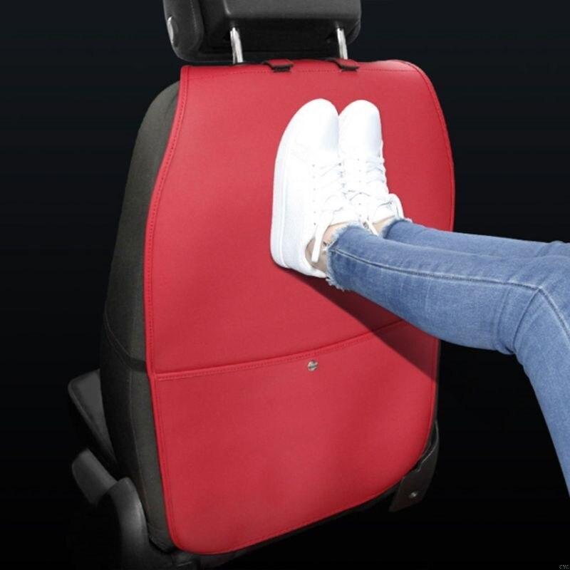 Чехол на заднюю панель автомобильного сиденья с карманом для хранения, органайзер, чехол на заднее сиденье, анти-кик, коврики, износостойкие, для заднего сиденья автомобиля, защита доступа