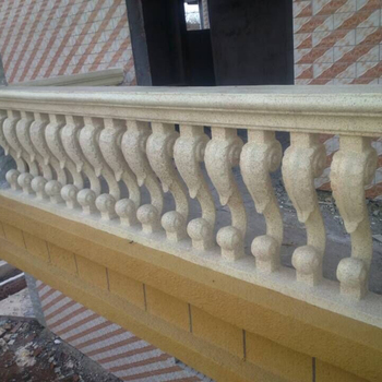 93cm (36.61 in) ABS Home Gardening & Balcony Seahorse Cast in Place Concrete Balcony Baluster(With Rail) Mold