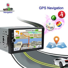 RM – CT0011 2 Din Android System Car Multimedia Player AM / FM Stereo Radio 7 inch Touch Screen Wifi Bluetooth GPS Navigation