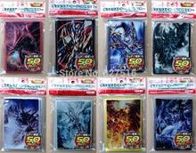 10 პაკეტი / ლოტი (500 ცალი) anime Yu-Gi-Oh! Dark Magician Girl სამაგიდო თამაშები yugioh ბარათის ყდის ბარიერი დამცავი სათამაშო საჩუქარი