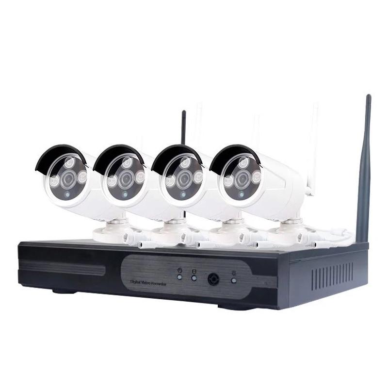 Wireless Security Camera System Video Surveillance Kit 4CH Wifi NVR Kit P2P HD 720P Night Vision CCTV IP Camera HD NVR Kit Set