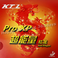 Free Shipping KTL Pro XP Red Dragon Black Pips In Table Tennis Rubber With Sponge
