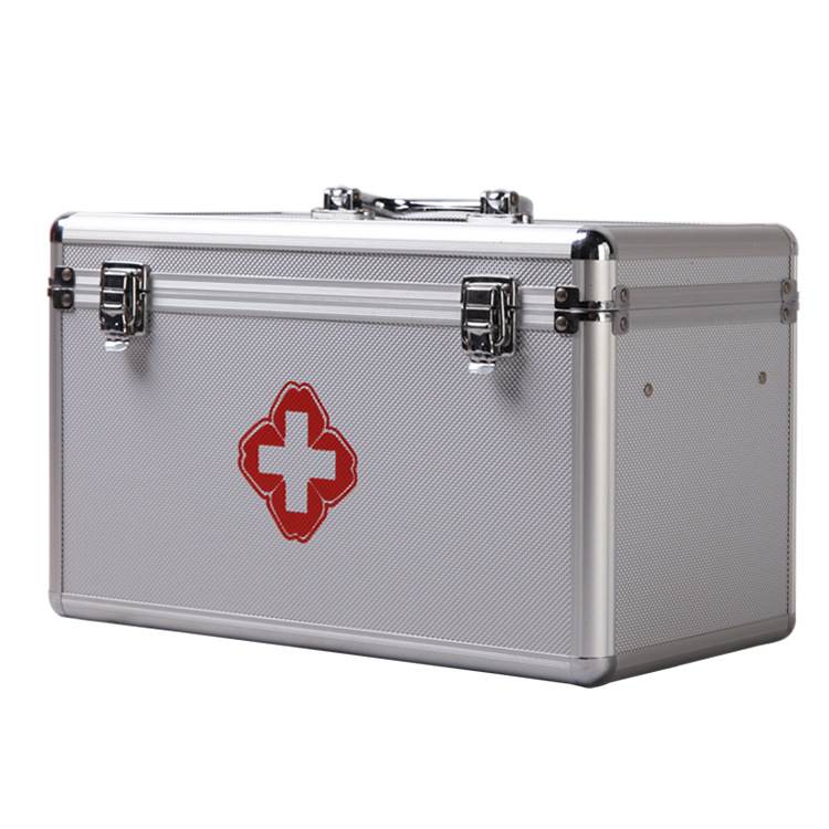 Aluminium Alloy Waterproof First Aid Kit Camping Car Emergency Survival Kit Medical Supplies for Home Outdoor motorcycle equipment survival kit shovel tools camp kamp acampamento sobrevivencia ferramentas emergency survival gear for tent