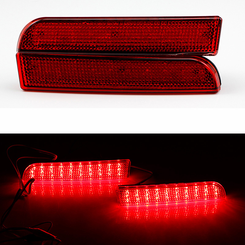 Ownsun New Multi-LED Reflector Rear Tail Light Bumper Brake Light For Mitsubishi Lancer EX 2010-2014 new for toyota altis corolla 2014 led rear bumper light brake light reflector novel design top quality fast shipping