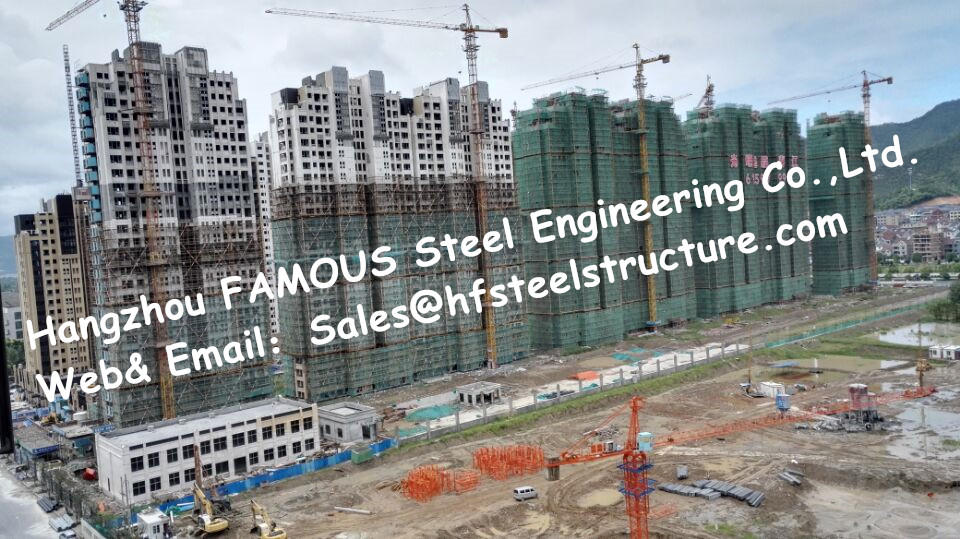 Fabricated Steel Supplier China And Prefabricated Steel Structure Chinese Contractor