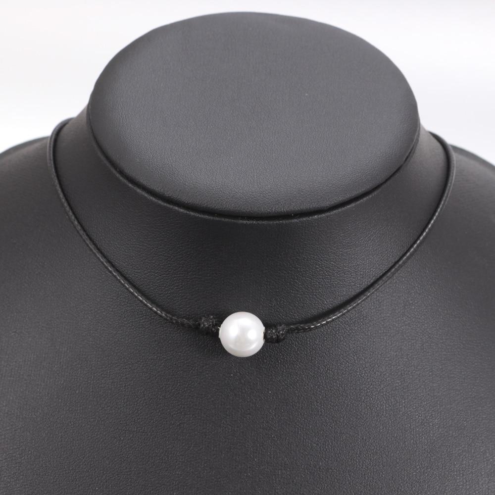 2019 νέα μόδα μαύρο σχοινί κερί σχοινί - Κοσμήματα μόδας - Φωτογραφία 2