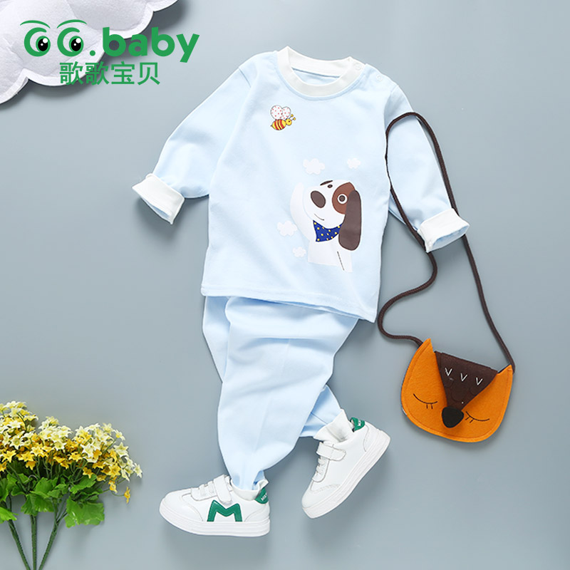Winter Baby Boy Sets Clothes Long Sleeve Newborn Baby Girl Set Clothing For Baby Boys Outfits Pajamas Sets Cotton Children Suits