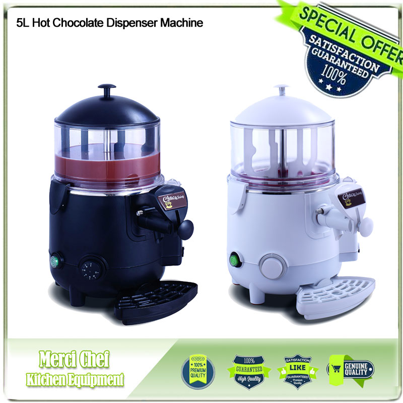 Merci Chef Chocolate Machine 5L Hot Chocolate Dispenser Commercial Machine Perfect for Cafe, Party chocolate 5