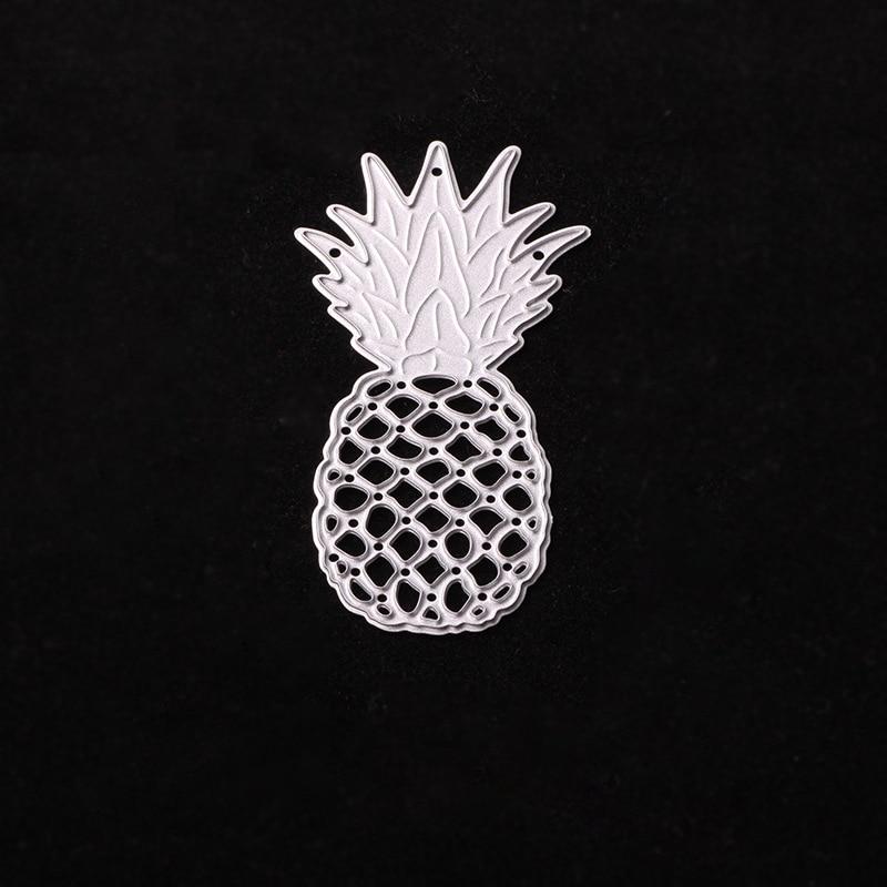 Pineapple Metal Die Cutting Dies for Scrapbooking Photo Album Cards Decorative Embossing Folder Stencil Craft Metal Dies Cut
