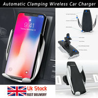Automatic clamping Wireless Car Charger Mount UK NEW&TOP QUALITY
