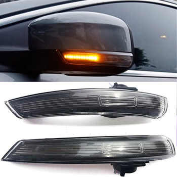 2pcs LED Side Wing Rearview Mirror Indicator Blinker Repeater Dynamic Turn Signal Light for Ford Focus 2 3  Mondeo - DISCOUNT ITEM  10% OFF All Category