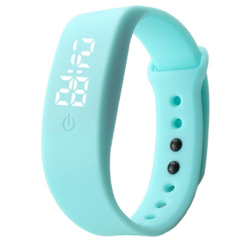 Les enfants regardent à travers le bas enfant montre Silicone montre électronique numérique horloge montres pour garçons et filles enfants montres