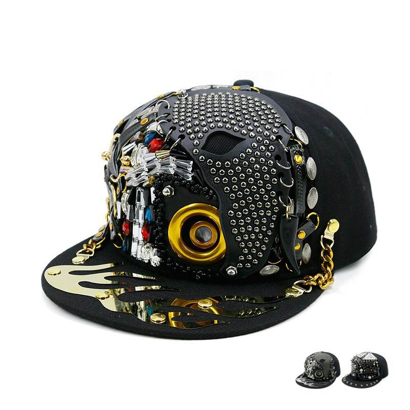 GBCNYIER Hip Hop Cool Fashion Hat Hot Dance Cool Men Flat Brim Cap Nightclub Show Team Women Visor Hiphop Sport Unisex Hats Pakistan