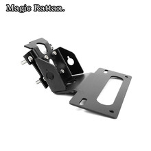 цена на Motorcycle Fender Eliminator Registration License Plate Holder   License Bracket Tail Tidy For MT-09 Fender Eliminator
