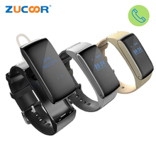 Original ZB66 Smart Talk Band Watch Bracelet Talkband Sport Pedometer Fitness Tracker Bluetooth Smartband For iOS Android Huawei