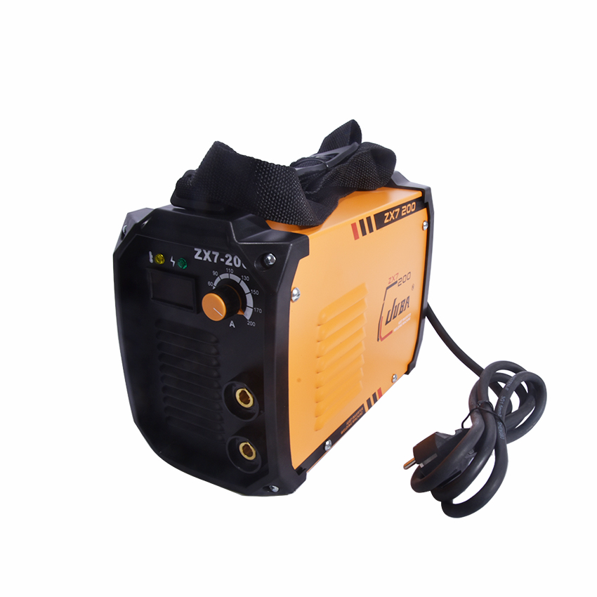new portable welder IGBT inverter portable welding machine arc welder ZX7-200 with electrode holder and earth clamp цена