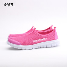 mbr women casual shoes 2017  arrival women's fashion air mesh summer shoes  slip-on  34-41 shoes