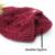 Pompom Chapéu De Pele de Guaxinim fêmea Chapelaria Gorro de Lã De Tricô Inverno Para As Mulheres Gorros Skullies
