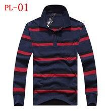 2016 new fashion mens t font b shirts b font 100 cotton casual long sleeve t