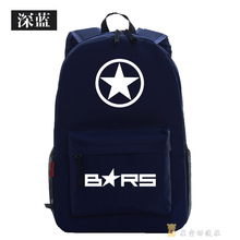 Black Rock Shooter Cosplay Backpack BRS Cartoon Bag Anime Oxford Schoolbag