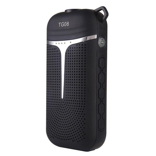6 в 1 динамик <font><b>bluetooth</b></font> led фонарик Запасные Аккумуляторы для телефонов ручка крюк Радио fm Компасы enceinte <font><b>bluetooth</b></font> портативные Caixa de сом Новый