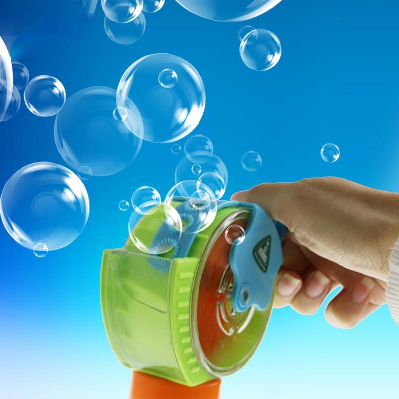 CIKOO Automatic Lovely Bubble Gun Manual Bubble Machine Children Soap Water Bubbles Gun Kid Outdoor Toy Gun bubble Blower Toys