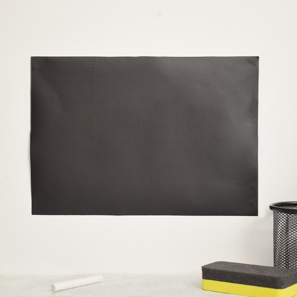 8pcs/set Removable Blackboard Stickers Chalkboard Wall Polymeric PVC Stickers Decals 30x20CM Gift Vinyl