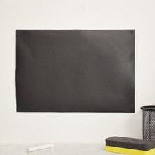 Дешевые 8 шт./компл. съемный Классная доска Наклейки доске стены полимерные ПВХ Наклейки Переводные картинки 30×20 см подарок винил