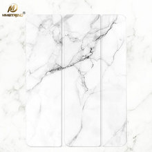 hot deal buy mimiatrend new white marble grain pu case for ipad pro 10.5