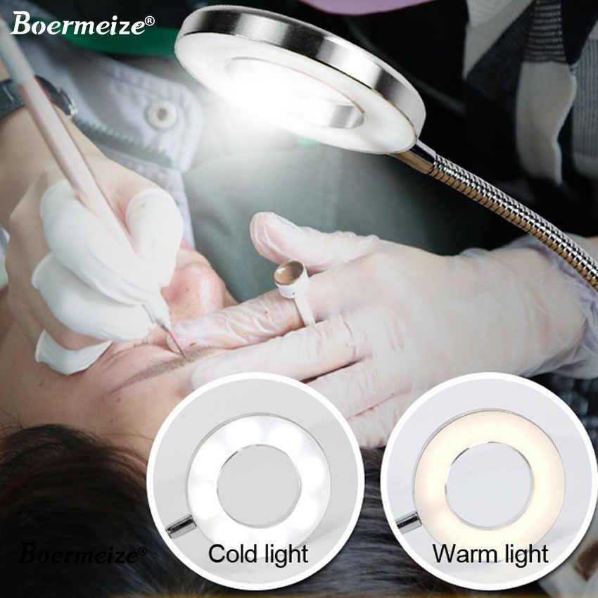 Hình Xăm Đèn Kẹp USB Đèn LED Ánh Sáng Lạnh Lông Mày Trang Điểm Sáng Thiết Bị Cải Tiến Hình Xăm Móng Tay Nghệ Thuật Thẩm Dụng Cụ